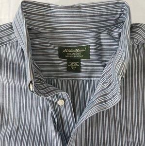 Eddie Bauer Long Sleeve Striped Button Down Shirt